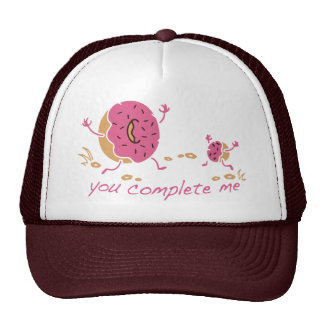 You Complete Me - Doughnut Trucker Hat