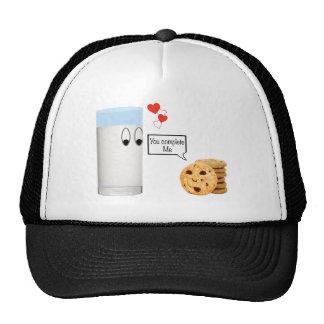 You Complete Me milk and cookies Trucker Hat