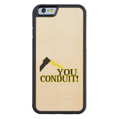 You Conduit Carved® Maple iPhone 6 Bumper