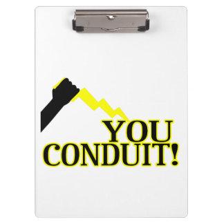You Conduit Clipboard