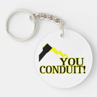 You Conduit Keychain