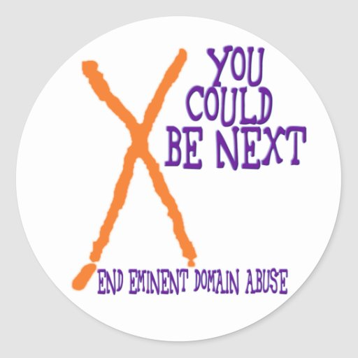You Could Be Next Classic Round Sticker