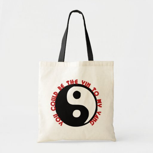 You Could be the Yin to my Yang Tote Bag