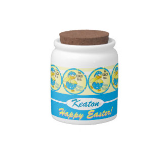 You Crack Me Up Easter Duck Candy Jar