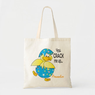 You Crack Me Up Easter Duck Tote Bag