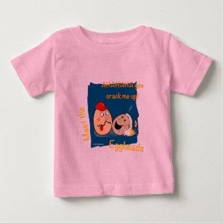 You Crack me up! Funny Eggheads Cartoons Baby T-Shirt