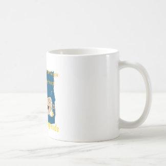 You Crack me up! Funny Eggheads Cartoons Coffee Mug