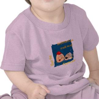 You Crack me up! Funny Eggheads Cartoons Tee Shirt