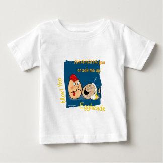 You Crack me up! Funny Eggheads Cartoons Infant T-shirt