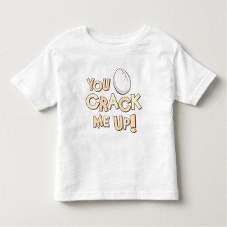 You Crack Me Up! Toddler T-shirt