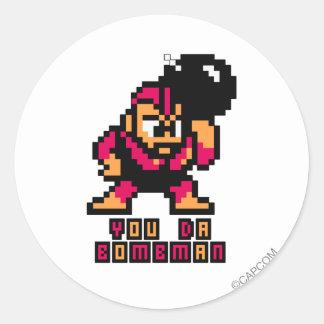 You Da Bombman Classic Round Sticker