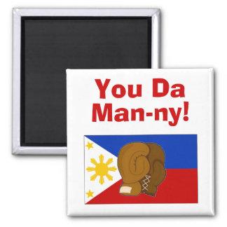 You Da Man-ny! Fridge Magnet