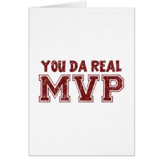 You Da Real MVP