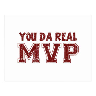 You Da Real MVP Postcard