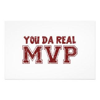 You Da Real MVP Stationery