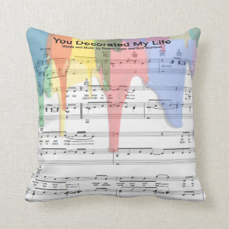 You Decorated My Life Throw Pillow