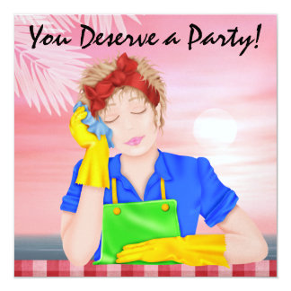 You Deserve a Party! - SRF Card