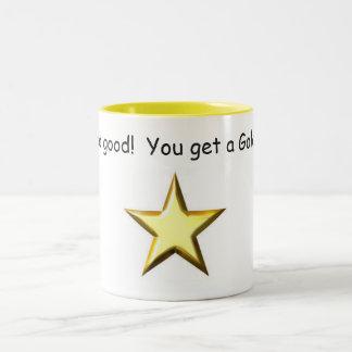 You did Good!  You get a Gold Star 11oz. Mug