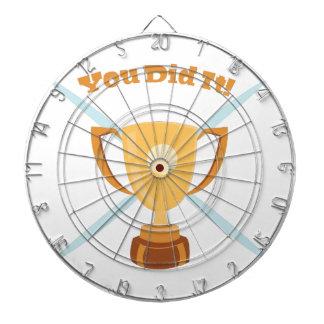 You Did It Dartboard With Darts