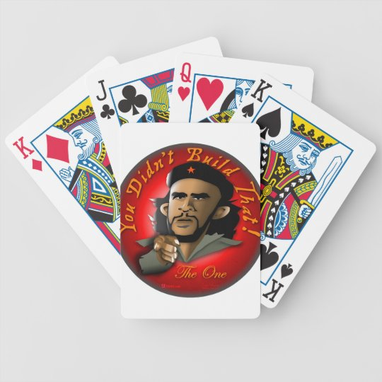 You Didn't Build That! Bicycle Playing Cards