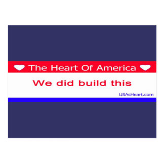 You Didn't Build That - We Did Build This Postcard