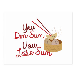 You Dim Sum Postcard