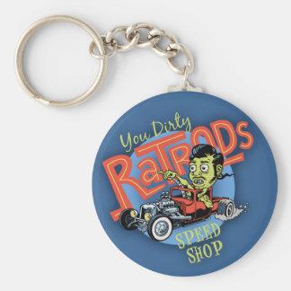 You Dirty Ratrod Keychain