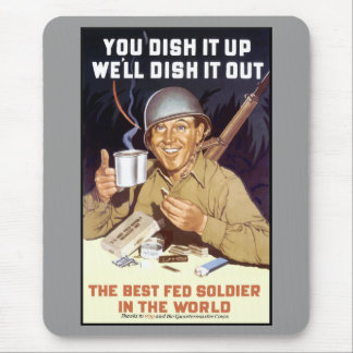 You Dish It Up We ll Dish It Out Mousepads