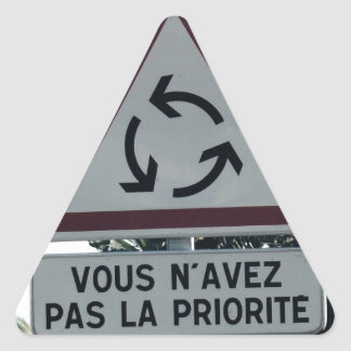 You do not have priority stickers