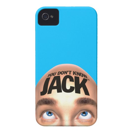 YOU DON'T KNOW JACK iPhone 4 Case