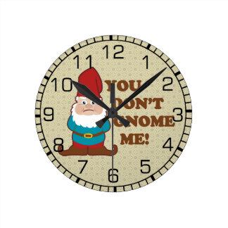 You Dont Gnome Me! Wallclock