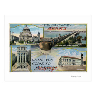You Don't Know Beans, Scenic Views of Boston Postcard