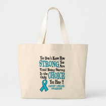 You Don't Know How Strong...Graves' Large Tote Bag