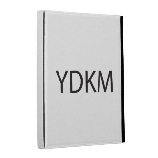 You Don't Know Me.ai iPad Cases