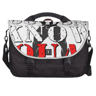 YOU DON'T KNOW SQUAT COMPUTER BAG