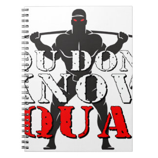 YOU DON'T KNOW SQUAT SPIRAL NOTEBOOKS