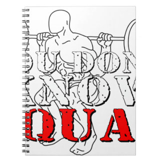 YOU DON'T KNOW SQUAT NOTEBOOK
