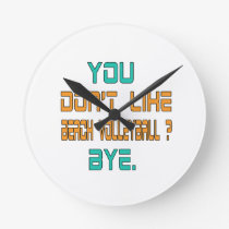 You don't like Beach Volleyball ? Round Clock