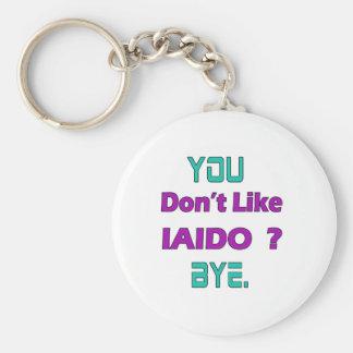 You Don't Like Iaido. Basic Round Button Keychain