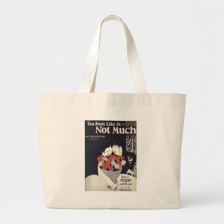 You dont like it not much large tote bag