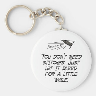 You don't need stitches keychain