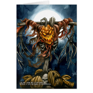 You Don't Scare Jack Greeting Card