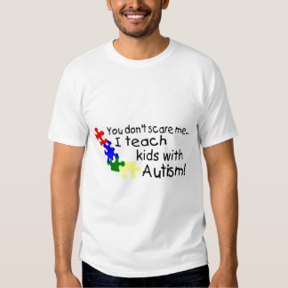 You dont Scare Me I Teach Kids With Autism T Shirt