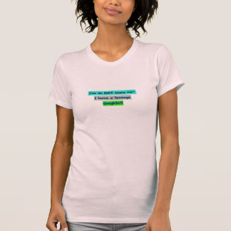 You don't scare me- I've got a teenage daughter! T-Shirt