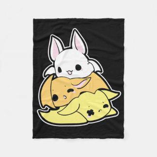 You Drive Me Batty Candy Corn Bats Fleece Blanket