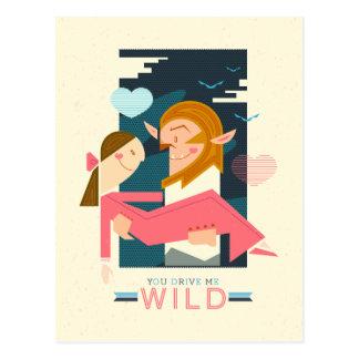 You Drive Me Wild: Postcard