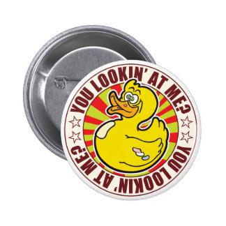 You Duck 2 Inch Round Button