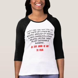 You eat hooves, I'm vegan T-Shirt