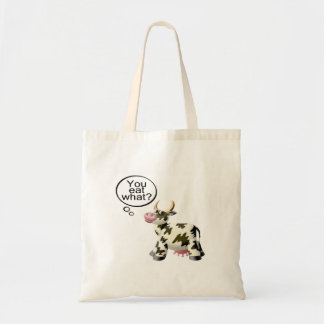 You Eat What Canvas Bags