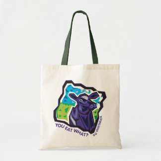 You Eat What? Cow Budget Tote Bag